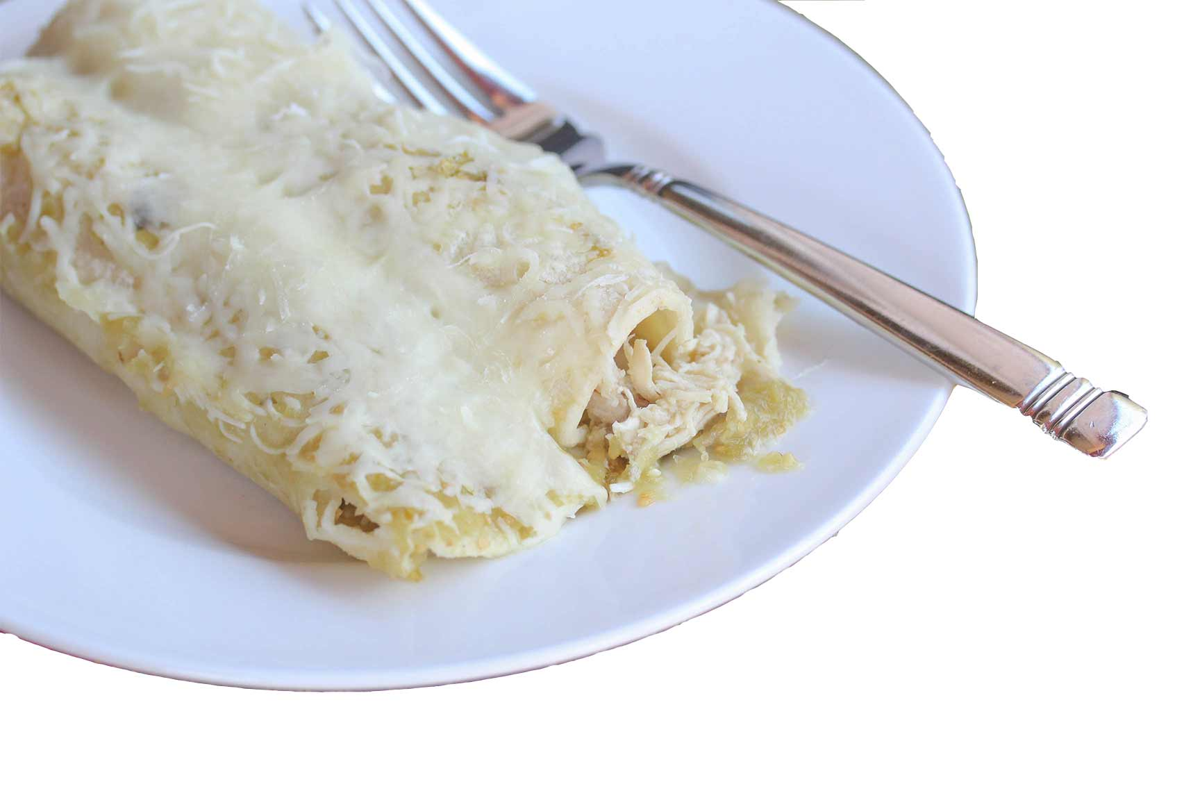 4-INGREDIENT SALSA VERDE CHICKEN ENCHILADAS icon