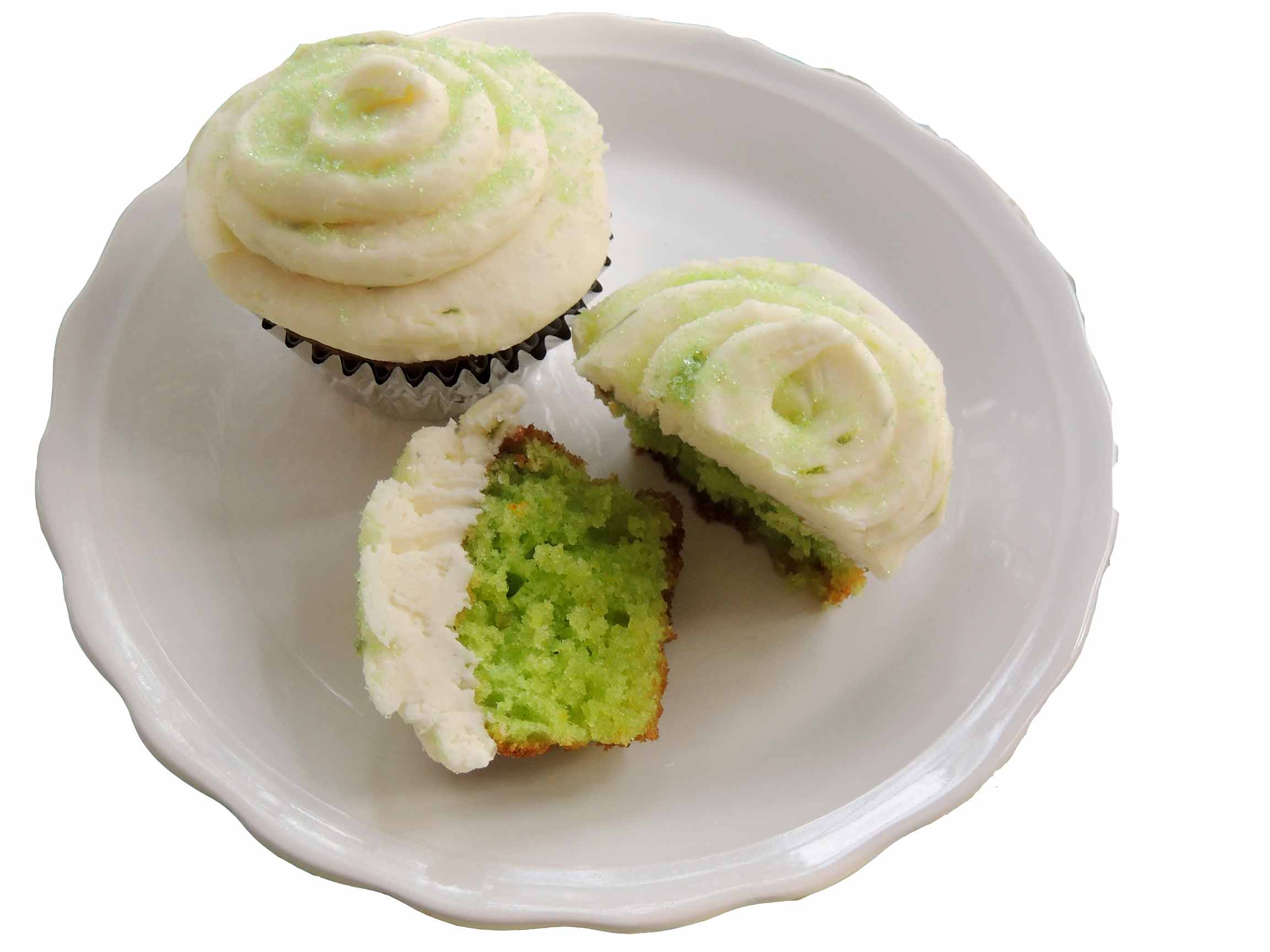 LIME CUPCAKES WITH CREAM CHEESE FROSTING icon